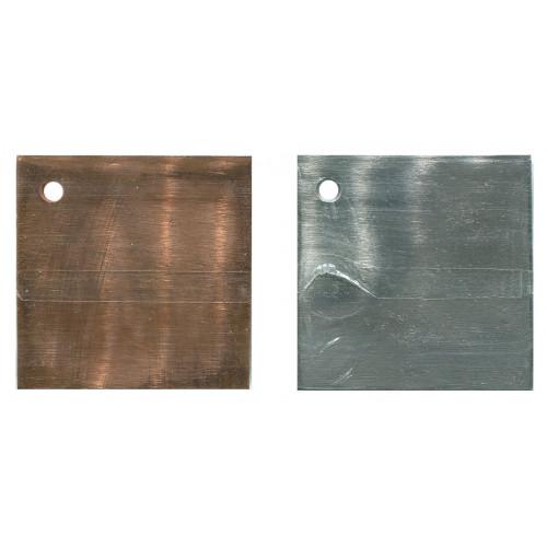 Как сделать металлические пластины 183